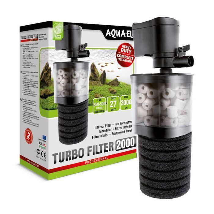 Фильтр внутренний Aquael TURBO FILTER 2000 27 W, 2000 л./ч.,акв.  350-500 л.