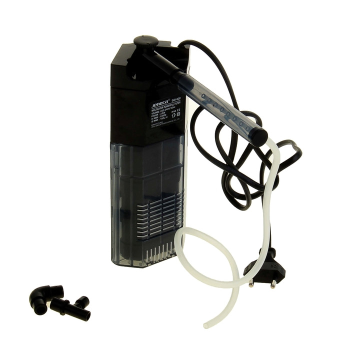 Внутренний фильтр Aleas угловой с флейтой 150 л/ч GLB-600