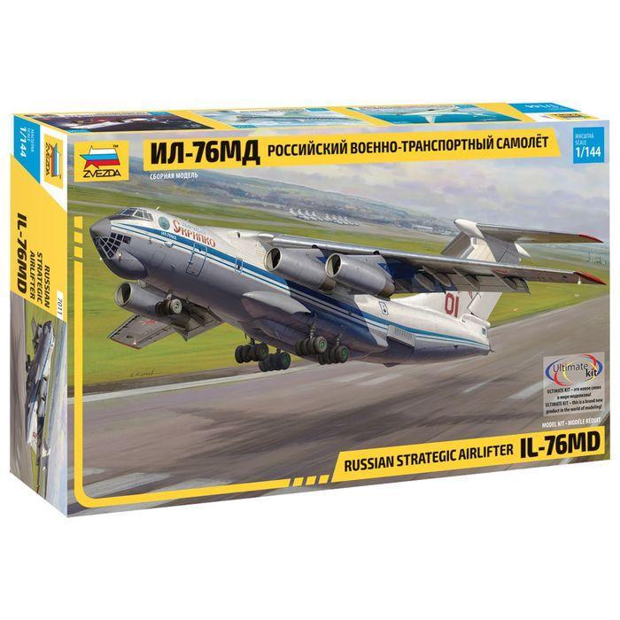 Сборная модель «Российский военно-транспортный самолёт Ил-76МД»