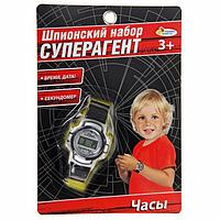 Шпионский набор «Суперагент», часы работают от батареек