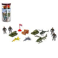 Набор солдатиков «Дивизия», 12 предметов, фото 1