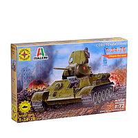 Сборная модель «Советский танк Т-34-76» (1:72), фото 1