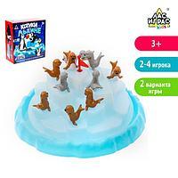 Настольная игра на равновесие «Котики на льдине», фото 1