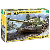 Сборная модель «Советский истребитель танков СУ-100», фото 1