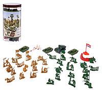 Набор солдатиков «Войско», 37 предметов, фото 1