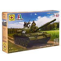 Сборная модель «Советский танк Т-62», масштаб 1:72