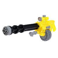 Водный пистолет «Миниган», с накачкой, фото 1