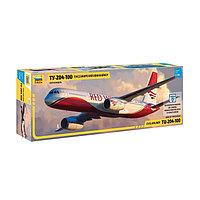Сборная модель «Пассажирский авиалайнер Ту-204-100»