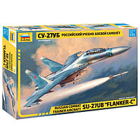 Сборная модель «Российский учебно-боевой самолёт Су-27УБ», фото 1