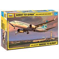 Сборная модель «Пассажирский авиалайнер Боинг 737-8 MAX», фото 1