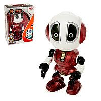 Робот «Повторюшка», реагирует на прикосновение, световые и звуковые эффекты, цвета МИКС, фото 1