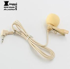 петличный микрофон конденсаторный, направленный , бежевый. XINGYI STAR