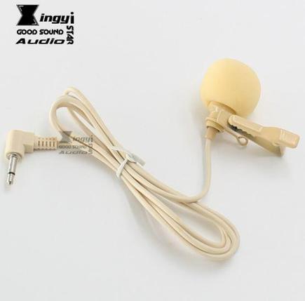 петличный микрофон конденсаторный, направленный , бежевый. XINGYI STAR, фото 2
