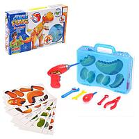 Конструктор в чемоданчике «Создавай и играй», с электрической дрелью, фото 1