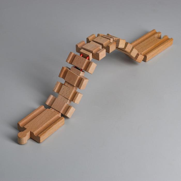 Деталь для ж/д «Собирающийся мост» 34×4×1.2 см
