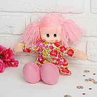 Мягкая игрушка «Кукла», в цветном платье, с кружевами, цвета МИКС, фото 1