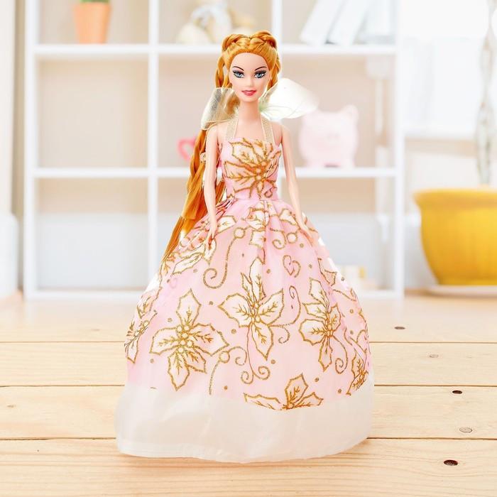 """Кукла модель """"Анита"""" в бальном платье, МИКС"""