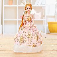 """Кукла модель """"Анита"""" в бальном платье, МИКС, фото 1"""