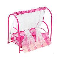 Кроватка для кукол 3, цвета МИКС, фото 1