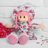 Мягкая кукла «Маша», платье в цветочек, цвета МИКС