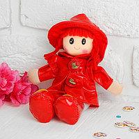 Мягкая игрушка «Кукла с кудрявыми волосами», в платьишке и шляпке, цвета МИКС, фото 1