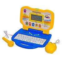 Компьютер детский обучающий с микрофоном, русско-английский язык, 30 программ, МИКС