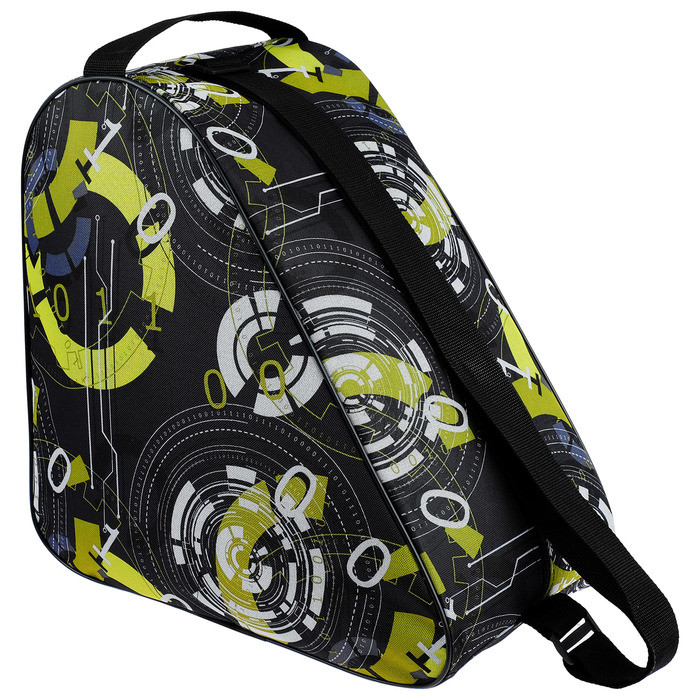 Сумка для коньков и роликовых коньков, принт мальчик, размер 38 х 40 см, цвет МИКС