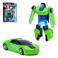 Трансформер-робот металлический «Автобот», цвета МИКС, фото 1