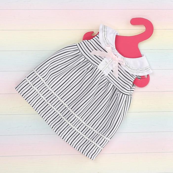 Платье «Лялечка» для пупса 38-42 см