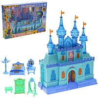 Замок для кукол «Волшебство» с аксессуарами, звуковые и световые эффекты