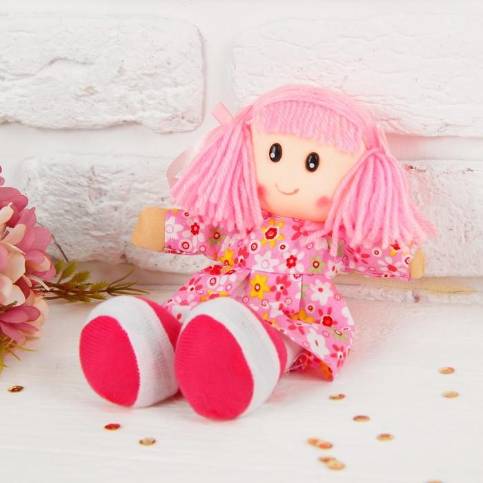 Мягкая кукла в платьишке, цвета МИКС
