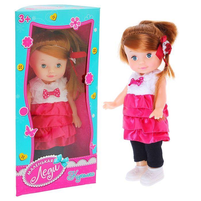 Кукла «Лиза» в платье с аксессуарами, МИКС