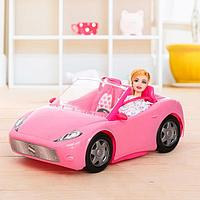 "Кукла модель ""Лена"" на машине, с аксессуарами, фото 1"