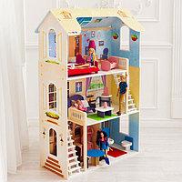 Кукольный домик «Шарм», 16 предметов мебели, 2 лестницы, фото 1