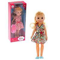 Кукла «Леночка», в летнем платье, МИКС