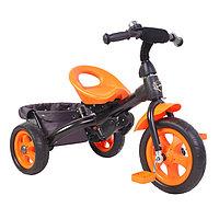 Велосипед трёхколёсный «Лучик Vivat 4», цвет оранжевый
