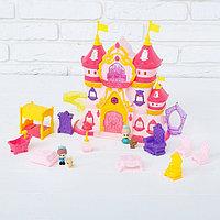 Замок для кукол «Шикарный дворец» с аксессуарами, световые и звуковые эффекты, фото 1