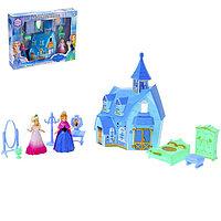 Замок для кукол «Принцессы» с аксессуарами, световые и звуковые эффекты