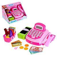Касса «Крутой магазинчик» со сканером, корзиной и аксессуарами