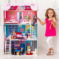 Кукольный домик «Вдохновение», (16 предметов мебели, 2 лестницы), фото 1