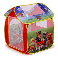 Детская игровая палатка «Щенячий патруль» в сумке, фото 1