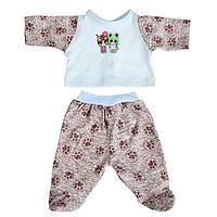 Одежда для кукол «Ползунки и кофточка», МИКС