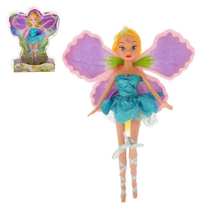 """Кукла фея """"Крылатка"""" в платье"""