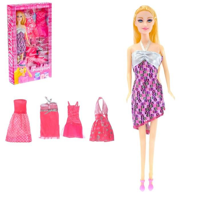 Кукла модель «Модные наряды» с аксессуарами, МИКС
