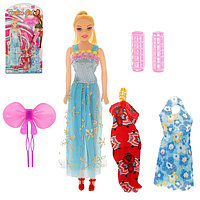 """Кукла модель """"Регина"""" в платье с аксессуарами, МИКС, фото 1"""