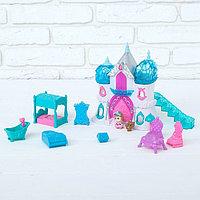 Замок для кукол «Снежное королевство» с аксессуарами, световые и звуковые эффекты, фото 1