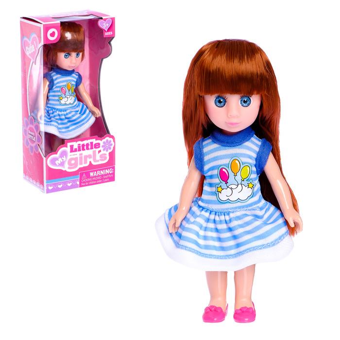 Кукла модная «Лида» в платье МИКС