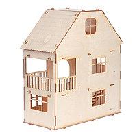 Домик для кукол, 3 этажа с мансардой, фото 1