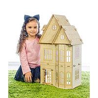Кукольный домик «Лайт» фанера: 3 мм, фото 1