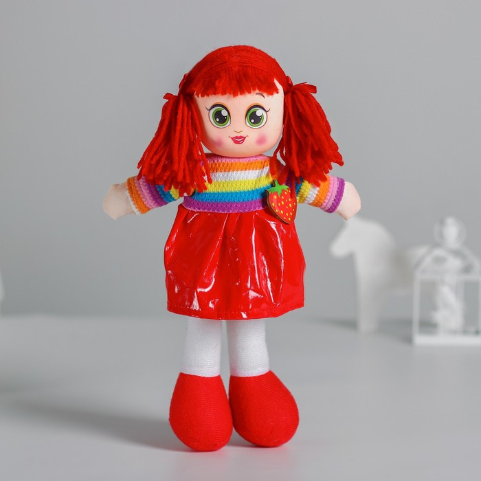 Кукла «Доминика», с брошкой, 30см